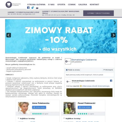 Warszawa - prywatny stomatolog warszawa wola