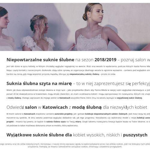 Katowice - suknie ślubne dla puszystych