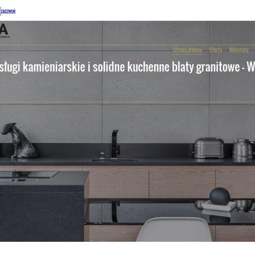 Blaty kuchenne kamienne - Sulejówek