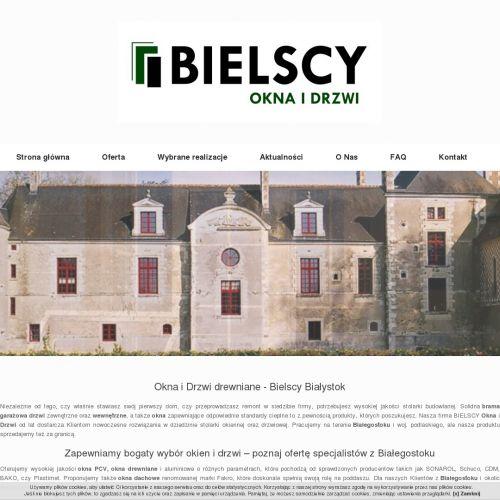 Białystok - drzwi drewniane