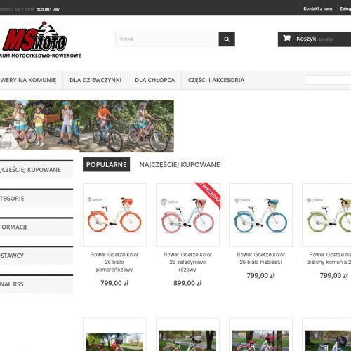 Garwolin - rower dziecięcy hexagon