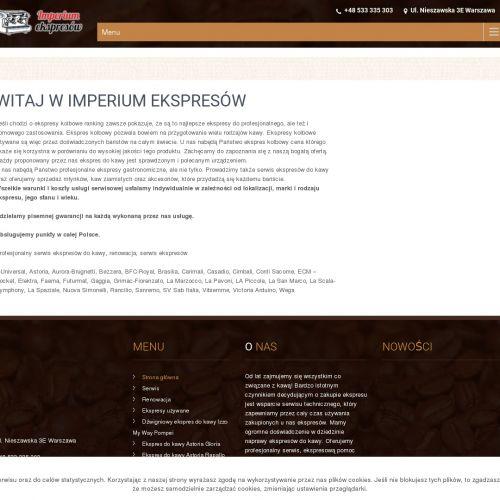 Warszawa - nuova simonelli appia ii compact