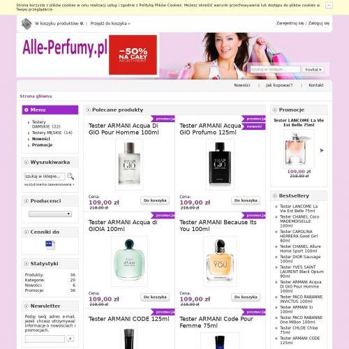 Perfumy firmowe cena - Wrocław