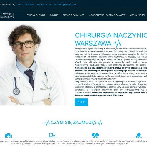 Warszawa - chirurgia naczyniowa