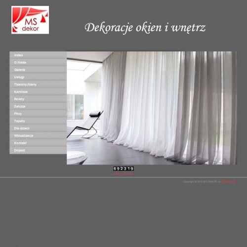 Warszawa - zasłony warszawa bemowo