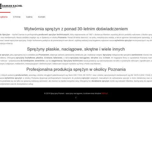 Poznań - sprężyny techniczne