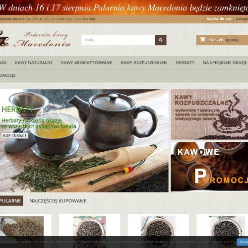 Łódź - kawa ziarnista sklep
