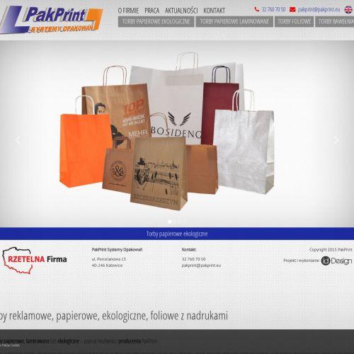 Tanie torby papierowe - Gdynia