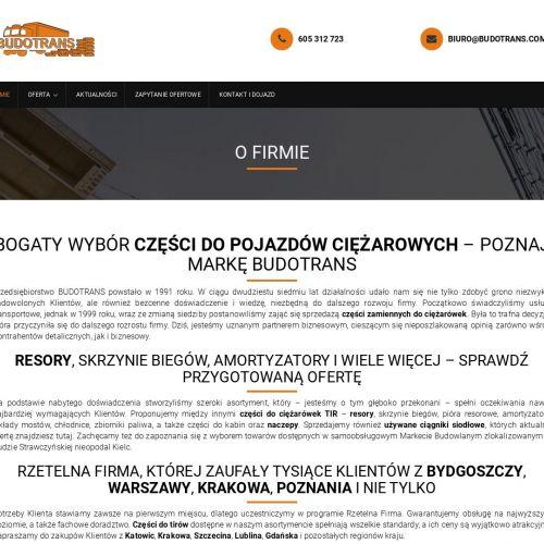 Nowe części tir w Lublinie