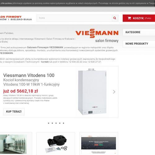 Pompa ciepła viessmann vitocal 200-s w Krakowie