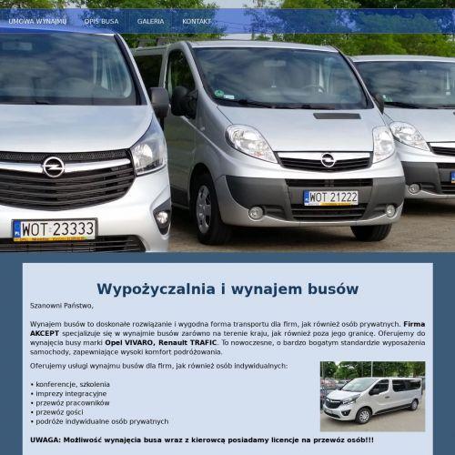 Przewóz gości w Warszawie