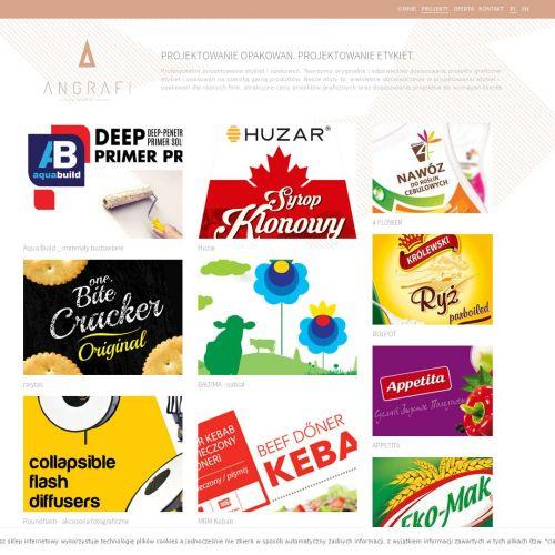 Projektowanie etykiet spożywczych w Poznaniu