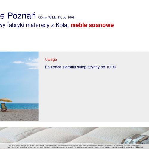 Stelaże ruchome - Poznań