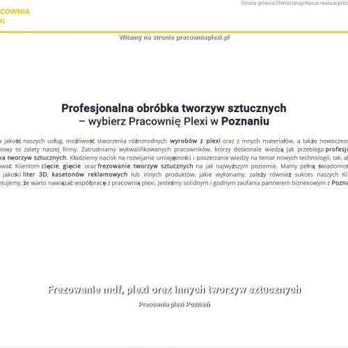 Osłony z plexi do maszyn w Poznaniu