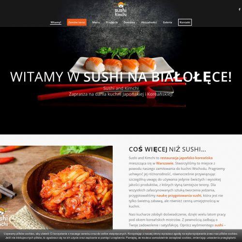 Najtańsze sushi w Warszawie