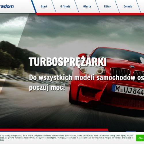 Radom - nastawniki turbosprężarek