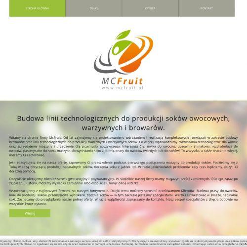 Prasa do wyciskania owoców