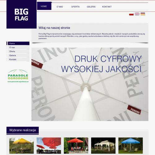 Flagi reklamowe producent w Warszawie