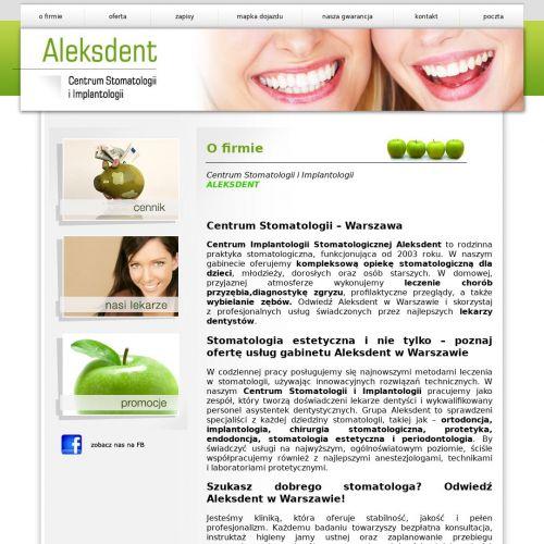 Dentysta ortodonta w Warszawie