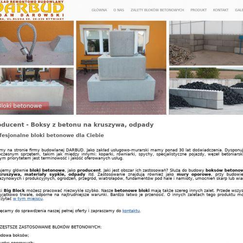 Wrocław - klocek betonowy