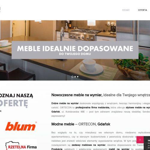 Szafy kuchenne na wymiar - Gdańsk