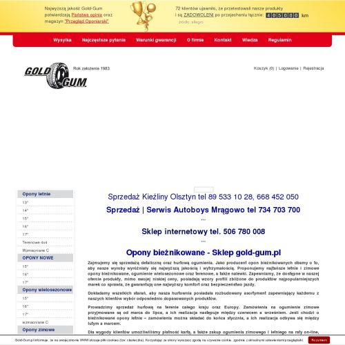 Opony zimowe 13 - Olsztyn