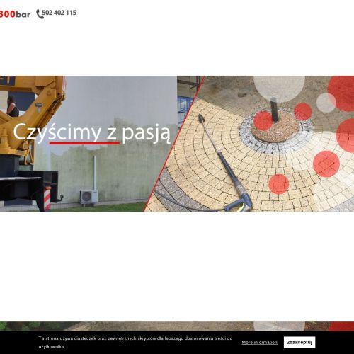 Czyszczenie powierzchni betonowych wielkopolska - Poznań