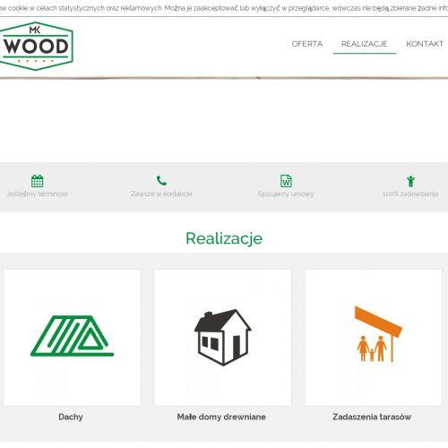 Budowa konstrukcji drewnianych w Łodzi
