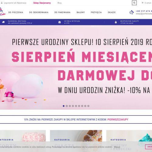 Dekoracje na tort - Warszawa