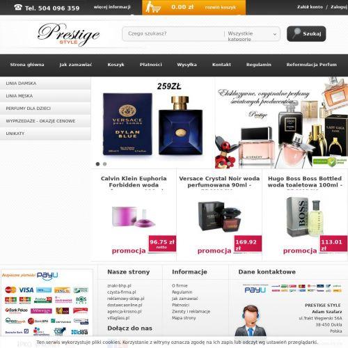 Perfumy męskie testery sklep internetowy