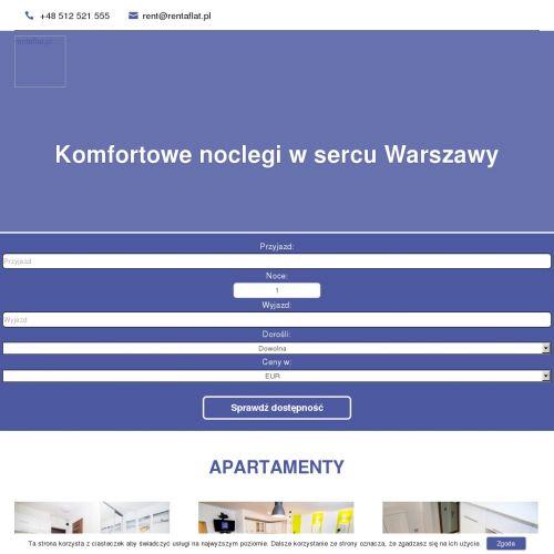 Apartamenty długoterminowe - Warszawa