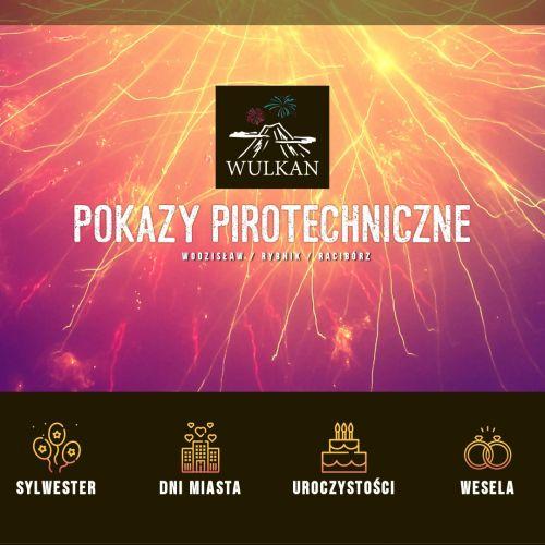 Profesjonalne pokazy pirotechniczne śląsk w Katowicach