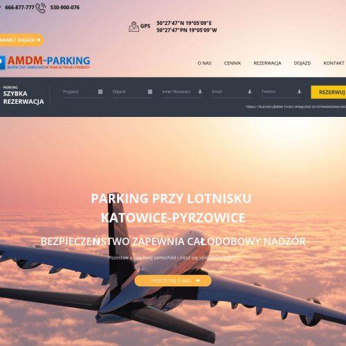 Katowice - parking w pyrzowicach