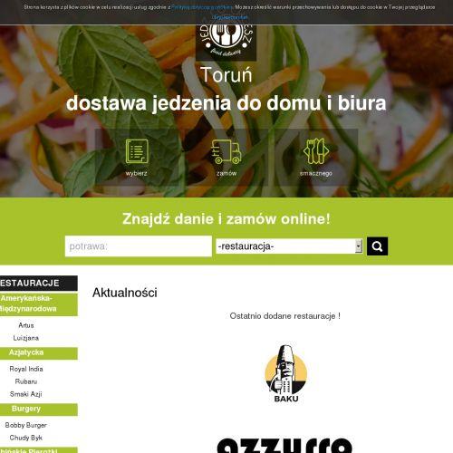Toruń - jedzenie na dowóz