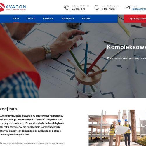 Projekt sieci sanitarnych Kraków