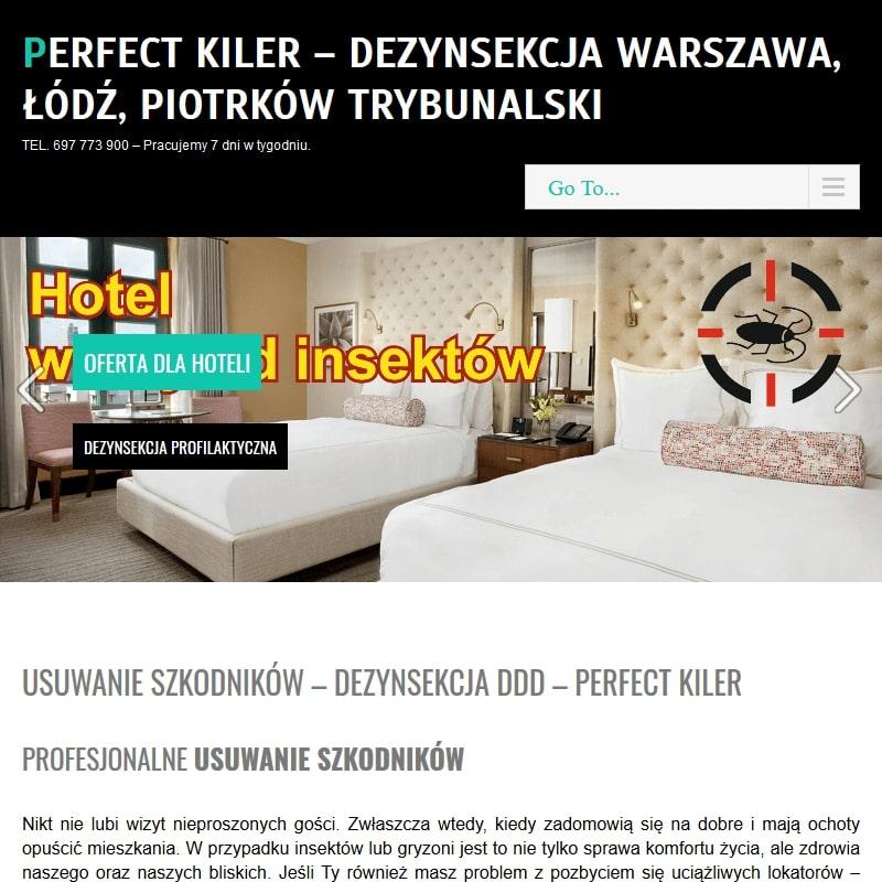 Łódź - likwidacyjna myszy