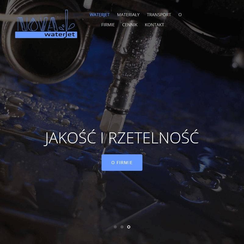Cięcie wodą skóry - Poznań