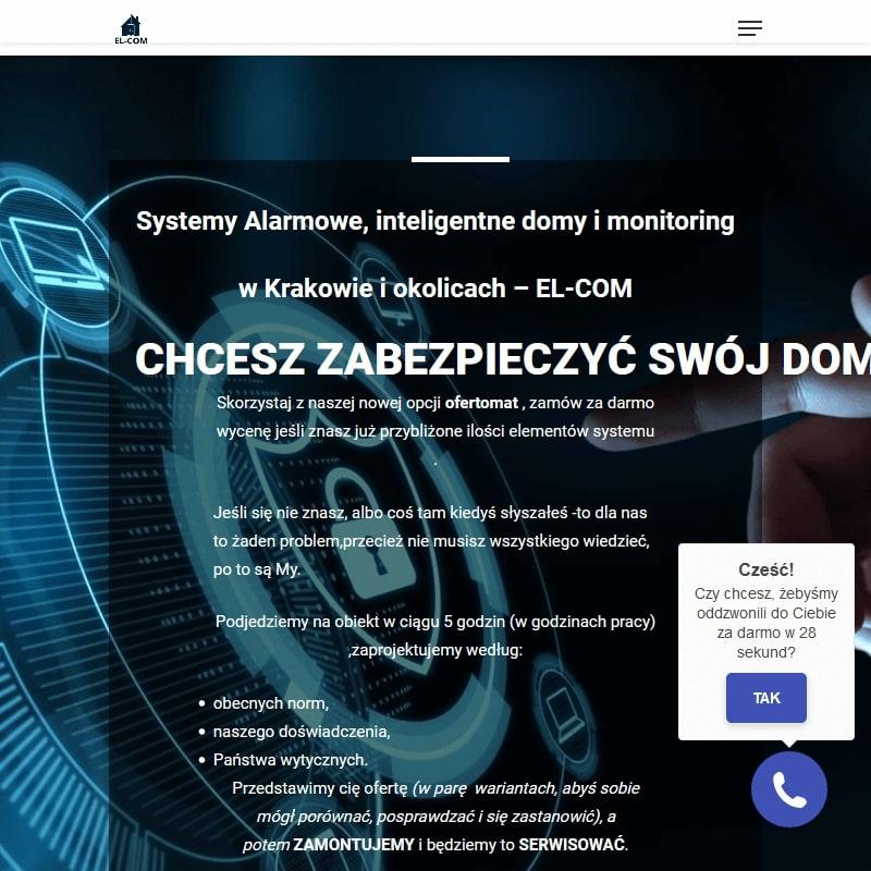 Zakładanie monitoringu Kraków
