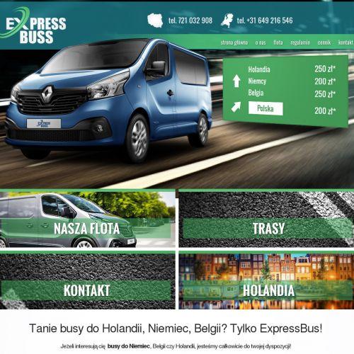 Tani bus holandia