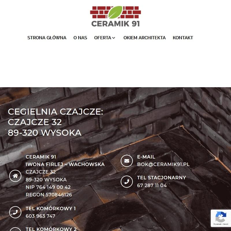 Bydgoszcz - płytki elewacyjne