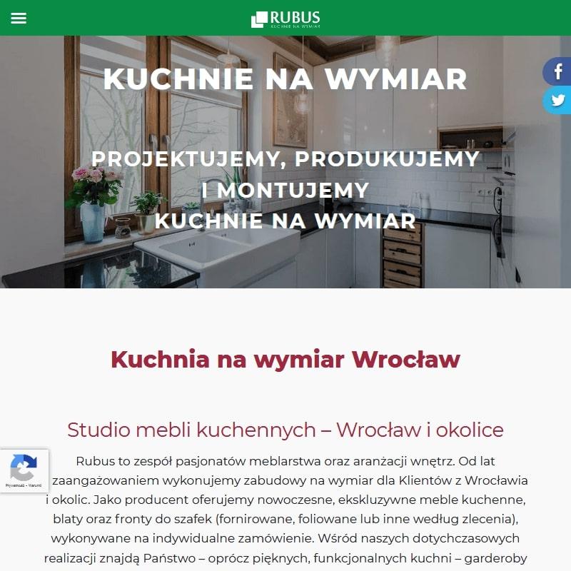 Wrocław - meble kuchenne drewniane