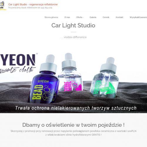Regeneracja lamp samochodowych w Mielcu