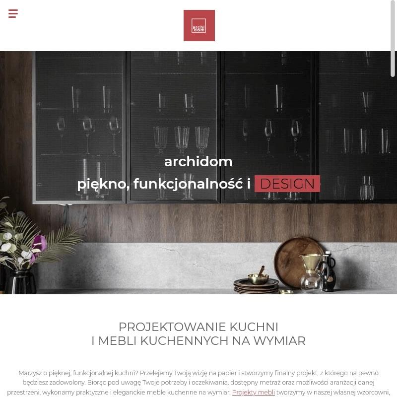 Meble kuchenne na wymiar w Krakowie