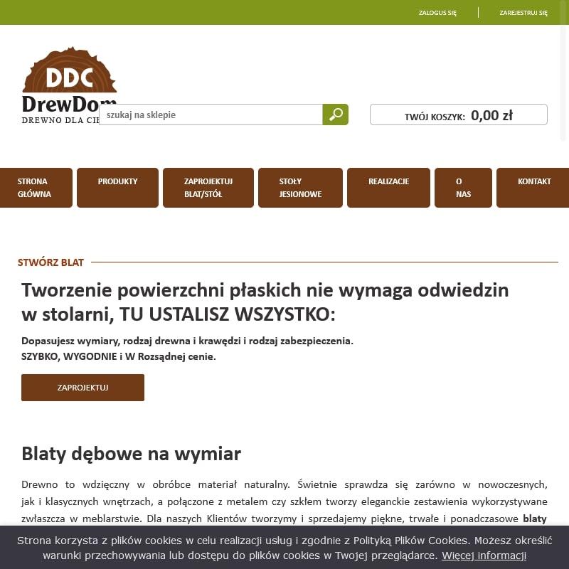 Warszawa - stoły dębowe producent