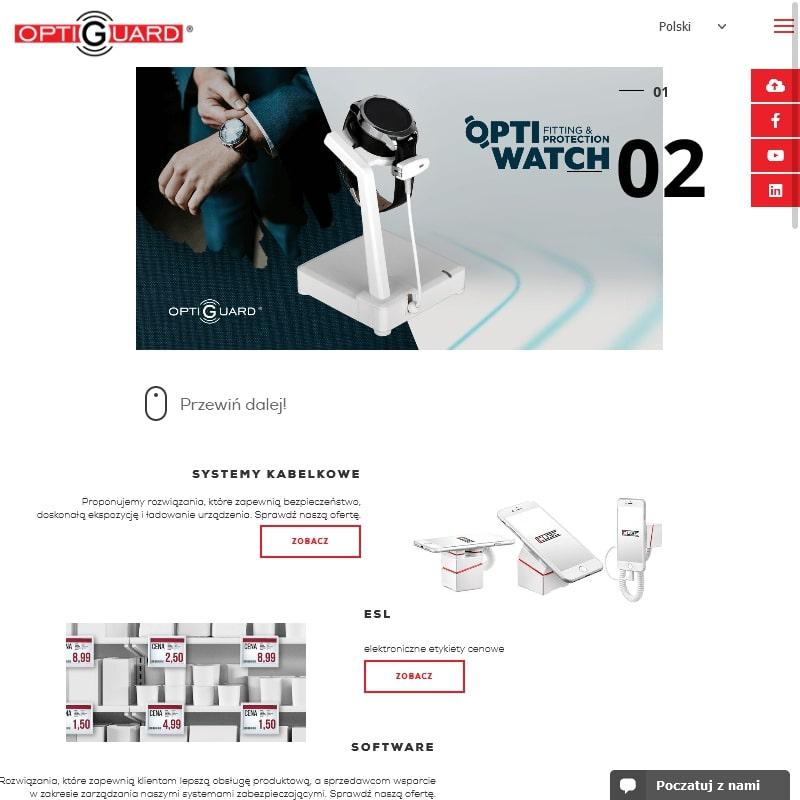 Zabezpieczenia sklepowe przed kradzieżą w Warszawie
