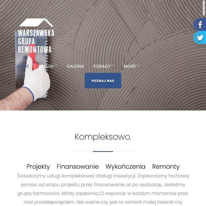 Remonty kompleksowe w Warszawie
