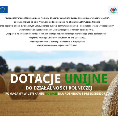 Dofinansowania rolnicze