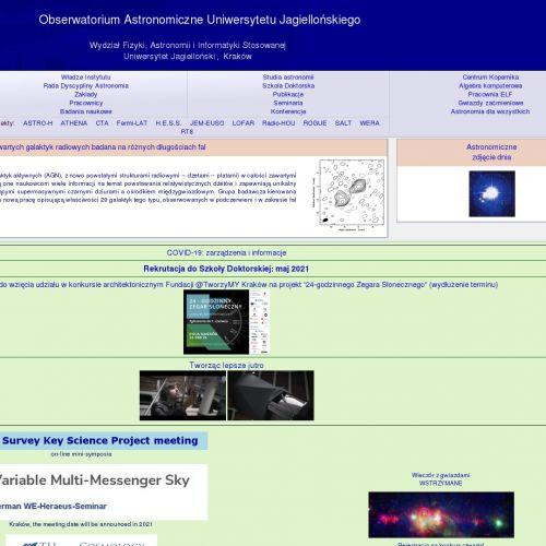 Astronomia uj