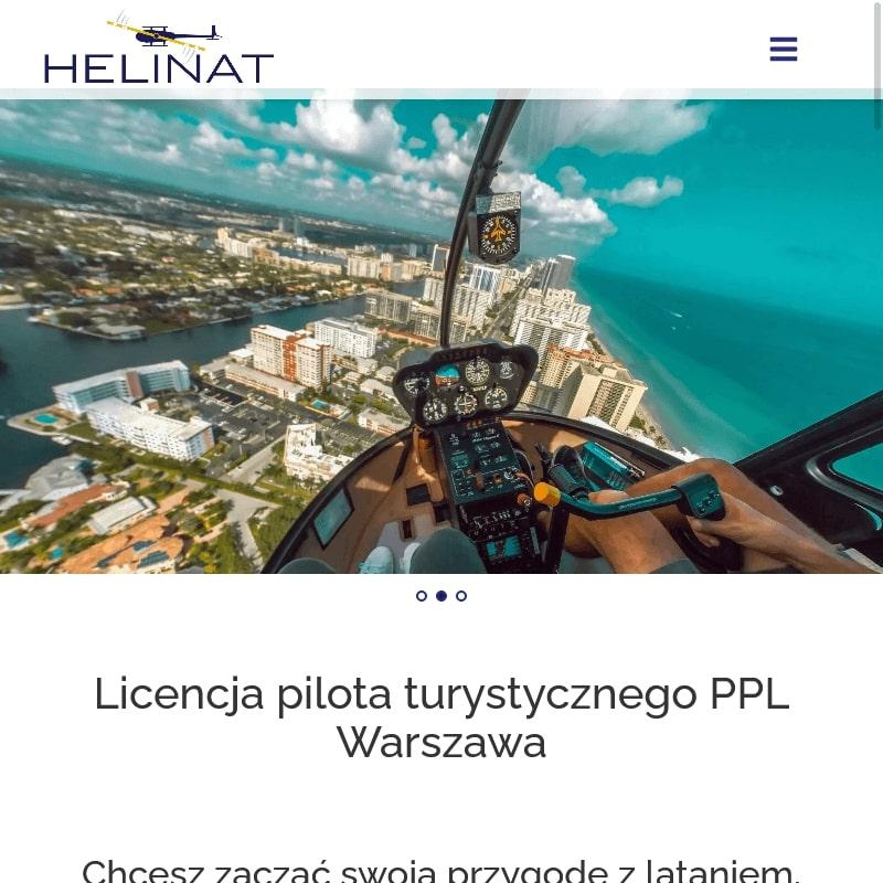 Warszawa - licencja helikopter cena
