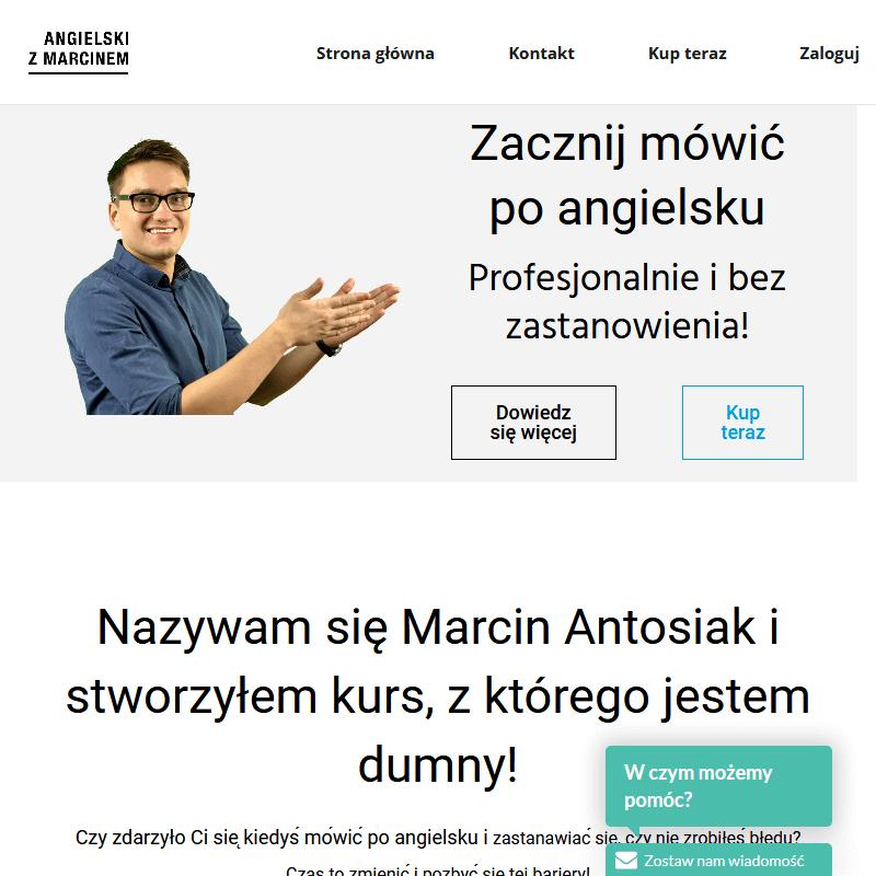 Internetowy lektor języka angielskiego w Gdańsku